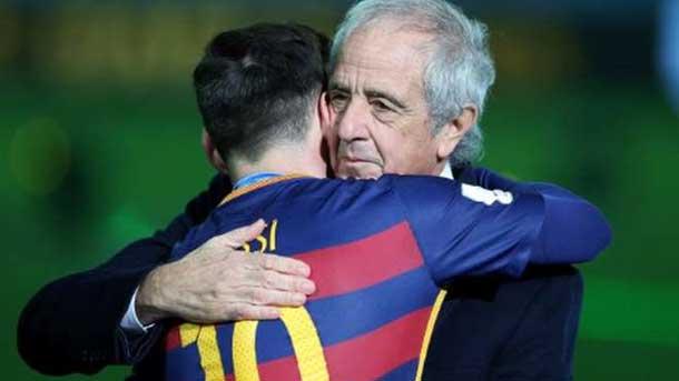 �Qu� dijo Messi al presidente de River tras el Mundial?