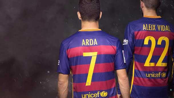 Confirmados los dorsales que vestirán Arda y Vidal