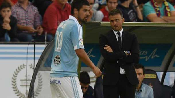 Luis Enrique asks directly the signing of Nolito