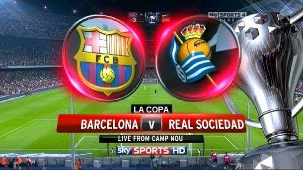 Previa del fc barcelona vs real sociedad | copa del rey 2013 14