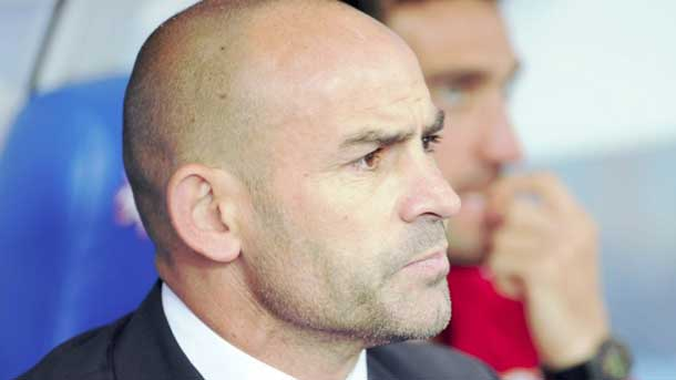 "Paco Jémez, impotente ante el ""vergonzoso"" arbitraje"