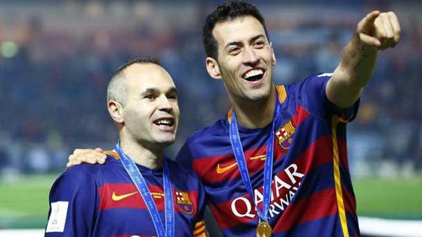 Sergio Busquets renovó contrato con Barcelona