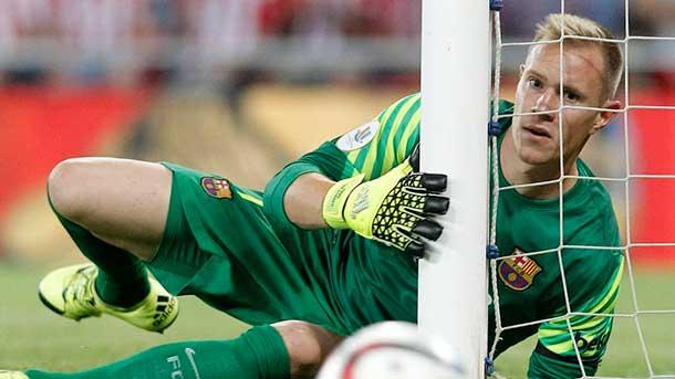 Ter Stegen fue una auténtica pesadilla para el Leverkusen