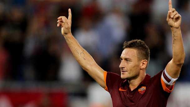 """Totti: """"Ser aplaudido en el Bernabéu fue fantástico"""""""