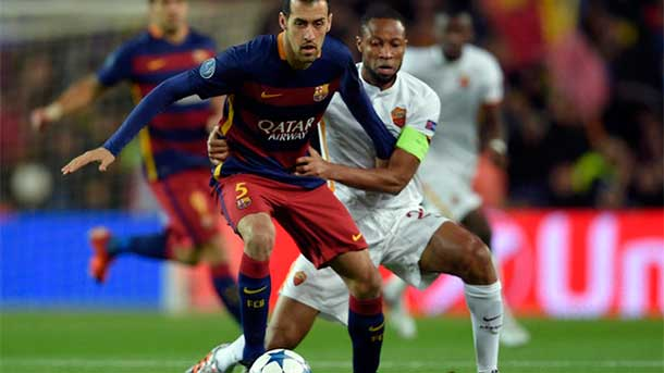 Busquets llega a una cifra mágica con el Barça
