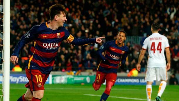 Leo Messi ya lleva 82 goles en Champions League