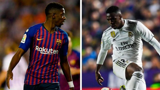 Dembélé vs Vinícius: The impudence, the speed and the fantasy of the  Classical