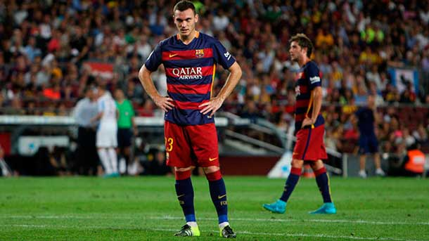Vermaelen debutó con el FC Barcelona en la Champions