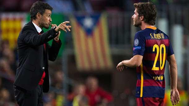 """Sergi Roberto, sobre las lesiones: """"No tenemos suerte"""""""