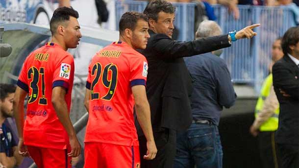 Toque de atención de Luis Enrique para Munir y Sandro