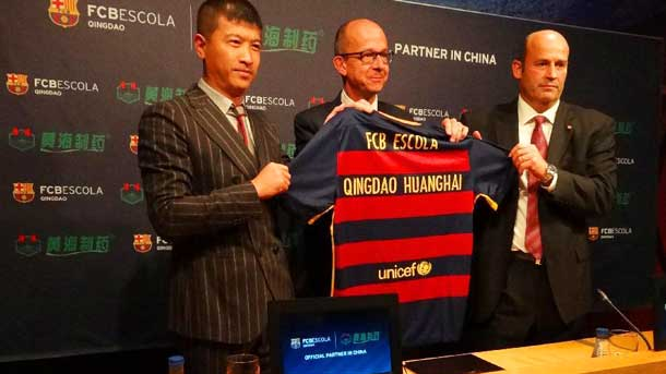 The Fc Barcelona Will Open A Second School Of Football In China
