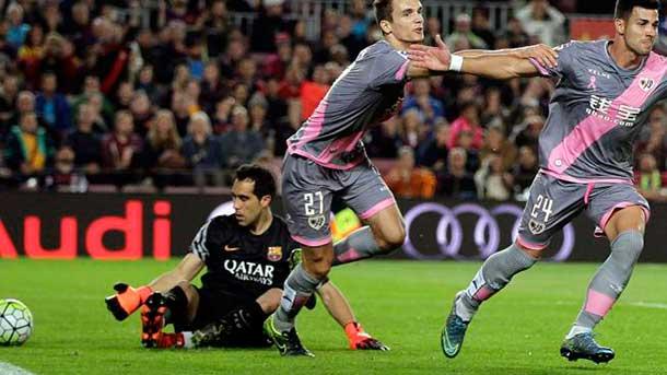El Barça no deja su portería a cero desde hace dos meses