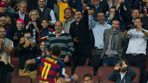 La afici�n del Camp Nou cambi� los pitos por aplausos