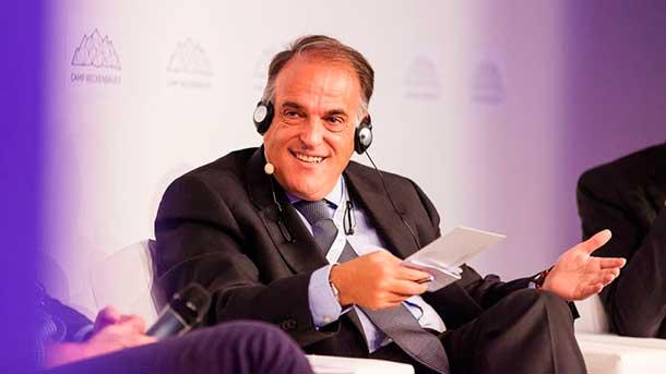 """Tebas: """"La FIFA es como una mafia siciliana del fútbol"""""""