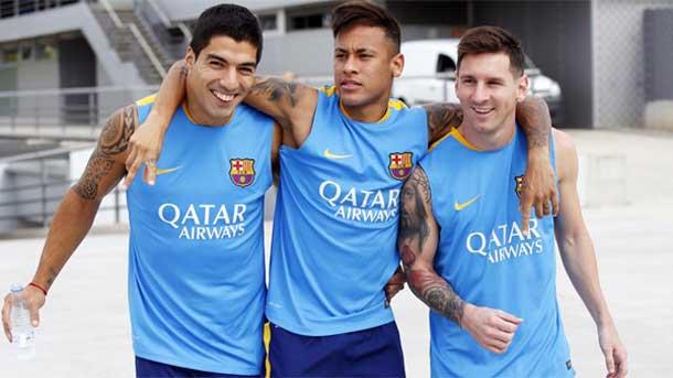 Dorsales de los jugadores del Barça en la Champions