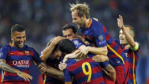 El Barça supera a Madrid y Milan en títulos internacionales