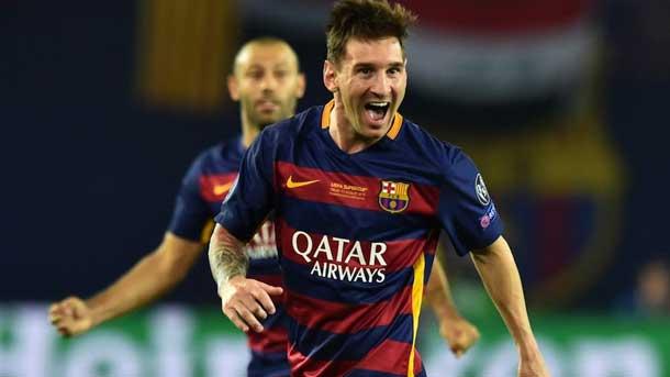 Nuevo paso en firme de Messi hacia el Balón de Oro 2015