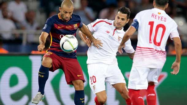 """Mascherano: """"Pedro juega para momentos únicos como éste"""""""