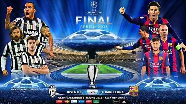 La Previa De La Final De La Champions League Juventus Vs Fc Barcelona