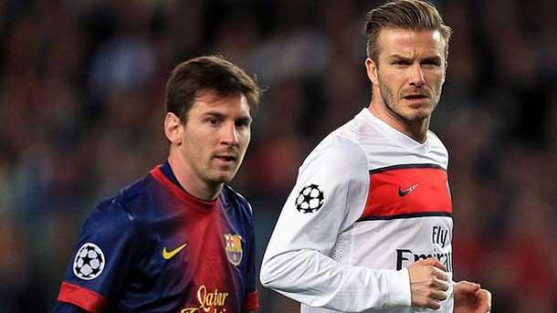Beckham también elogió la magia de Messi en Instagram