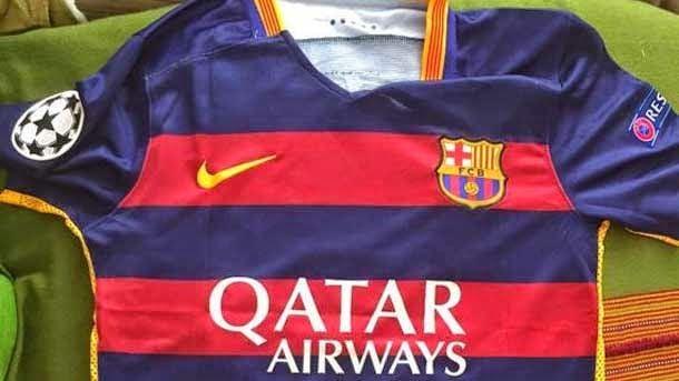 92157117e8ed0 La camiseta del FC Barcelona 2015-16 ya es casi oficial - FC ...