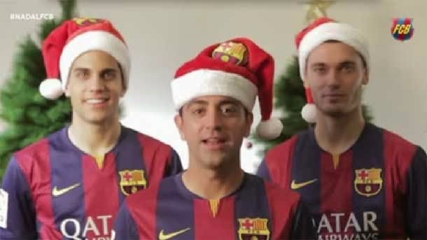 Felicitaciones De Navidad Del Fc Barcelona.La Felicitacion De Navidad Mas Global Del Fc Barcelona