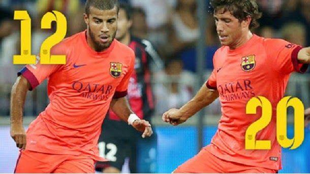 """Rafinha llevará el dorsal """"12"""" y Sergi Roberto el """"20"""""""