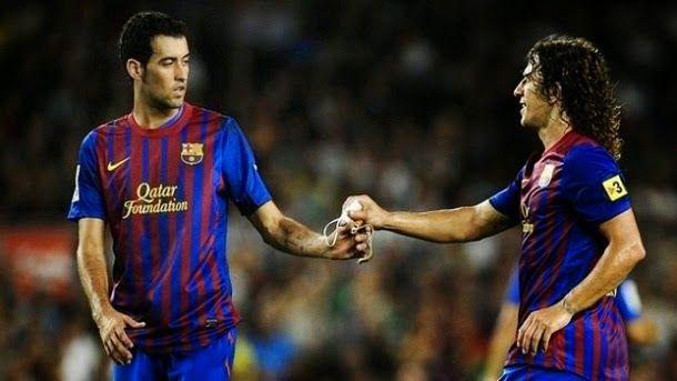 """Busquets lucirá el mítico dorsal número """"5"""" de Carles Puyol"""