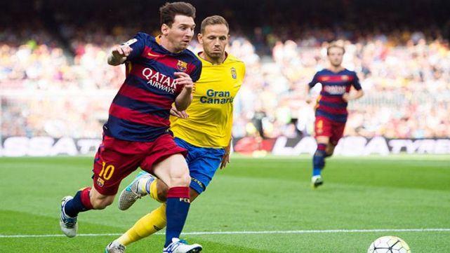 Messi ficha por la U.D. Las Palmas