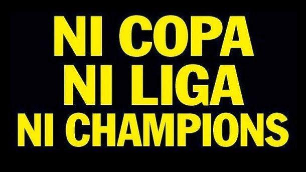Se confirma el fracaso: ni Champions, ni Copa, ni Liga