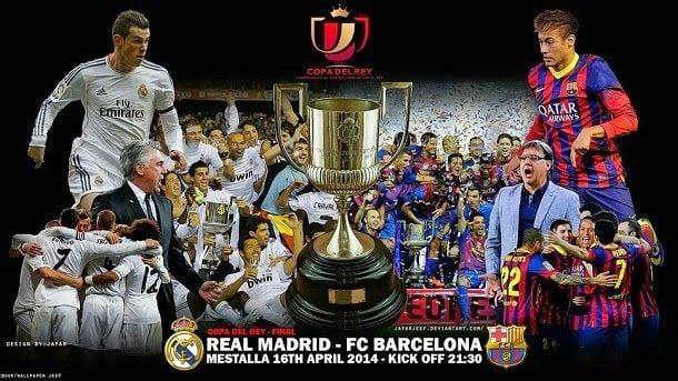 FC Barcelona vs Real Madrid - Final Copa del Rey 2013/14 - FC ...