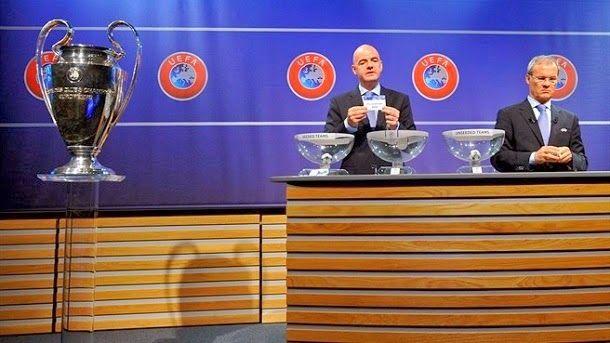 Sorteo de cuartos de final de la UEFA Champions League 2013/14