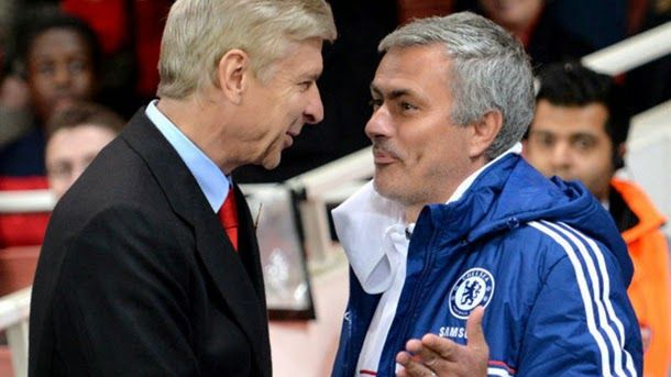 """Mourinho continúa buscando guerra: """"Wenger es un especialista en fracasar"""""""