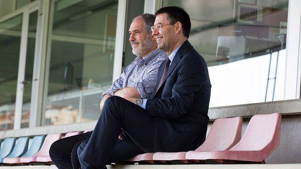 Misteriosa reunión entre Josep Maria Bartomeu y Zubizarreta