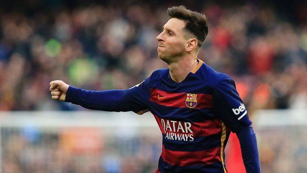 Messi, candidato a ganar Pichichi, Bota de Oro y Balón de Oro 2016