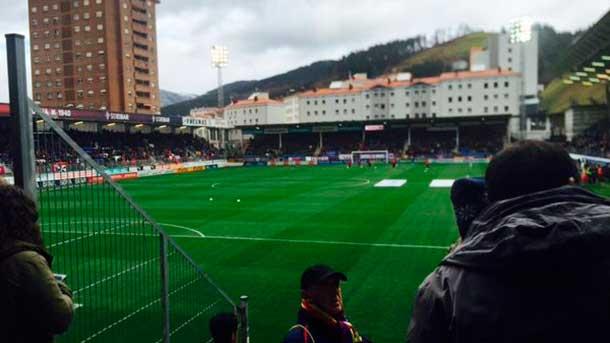 Ipur�a recibi� al FC Barcelona con un ambiente hostil y una sonora pitada