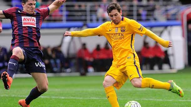 El privilegio de tener a Leo Messi: en�simo golazo ante el Eibar