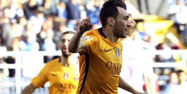Munir el Haddadi, titular y goleador del FC Barcelona frente al Eibar