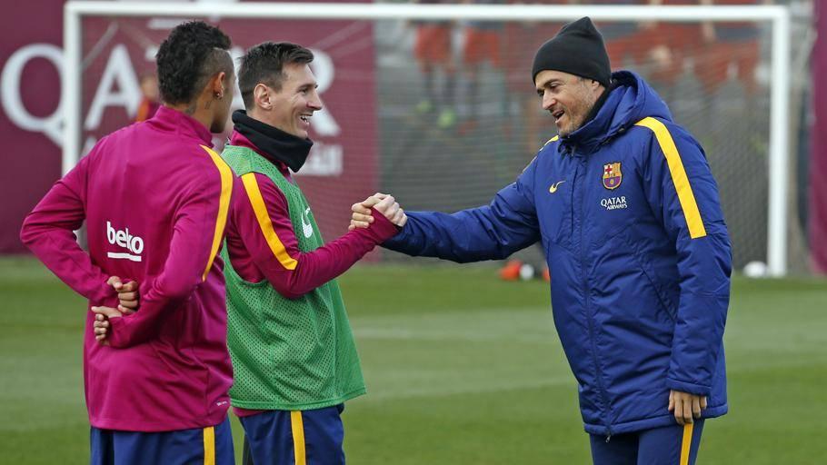 """Luis Enrique """"exprime"""" m�s a Messi que Guardiola"""