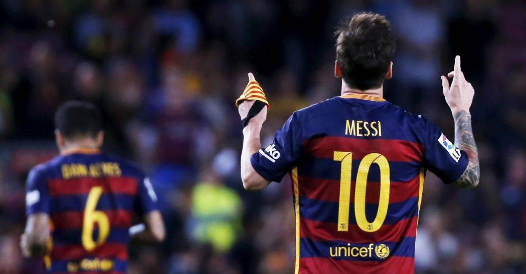 """Apoteósica progresión de Messi en la lucha por el """"Pichichi"""""""