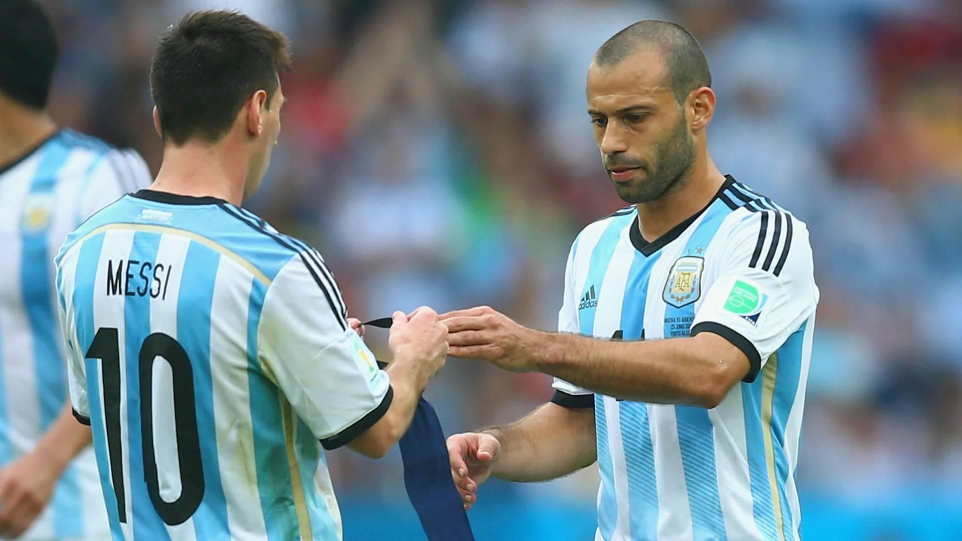 Messi y Mascherano, convocados ante Per� y Paraguay