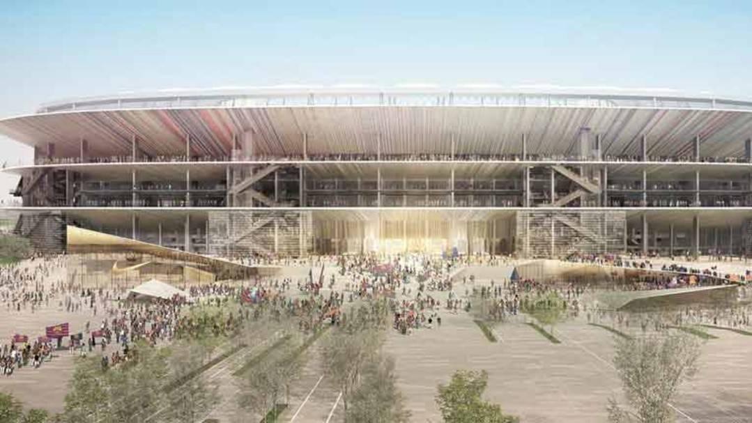 Así son las principales particularidades que tendrá el Nou Camp Nou