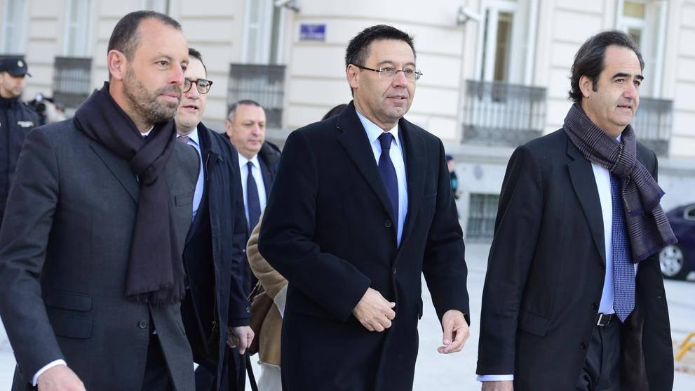 """El Barça, Bartomeu y Rosell dejan de estar acusados por el """"Caso Neymar"""""""