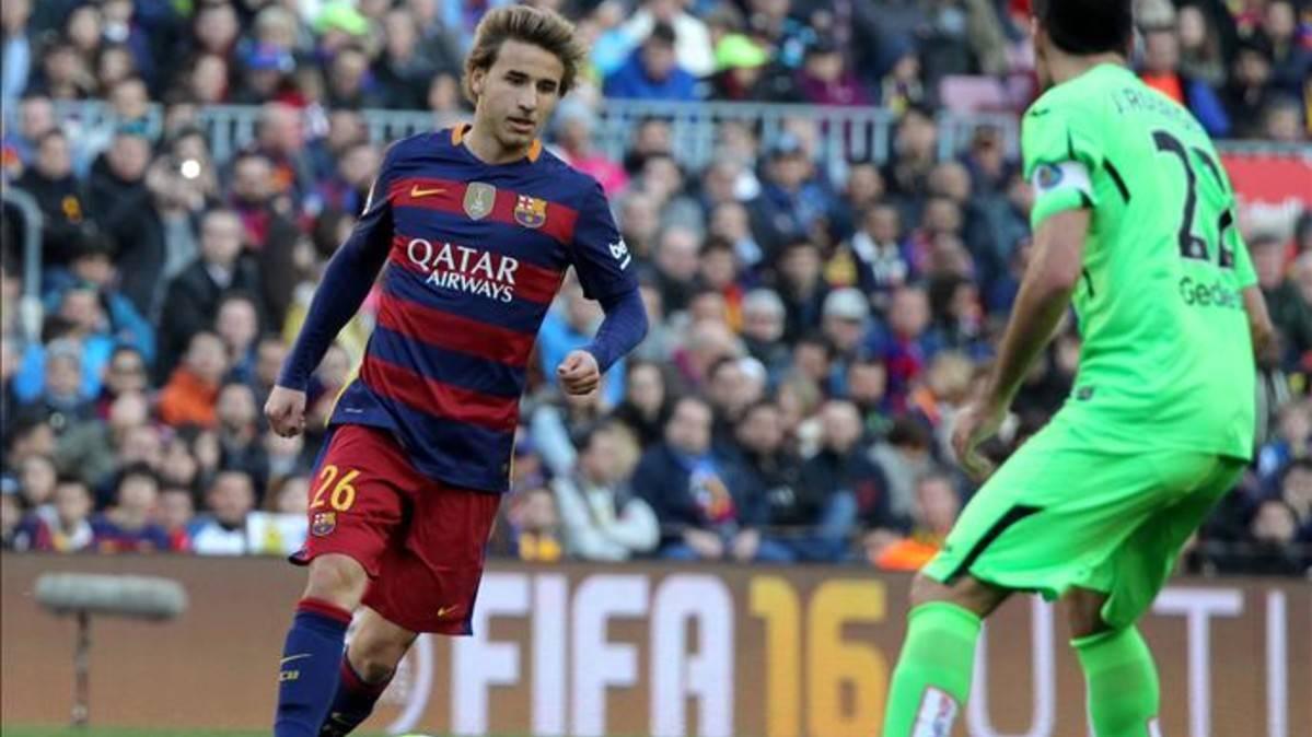 Dulce debut de Sergi Samper en Liga BBVA con el FC Barcelona