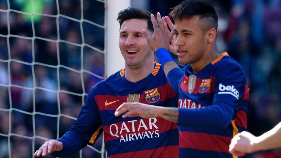 """Neymar y Messi también funcionan como el dúo """"saca-puntos"""""""