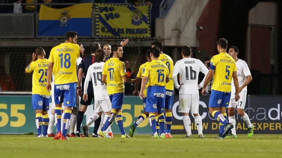 Injusta victoria del Real Madrid ante una ofensiva UD Las Palmas (1-2)