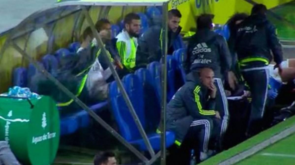 "Isco la ""lio"" tras ser sustituido por Zinedine Zidane ante Las Palmas"