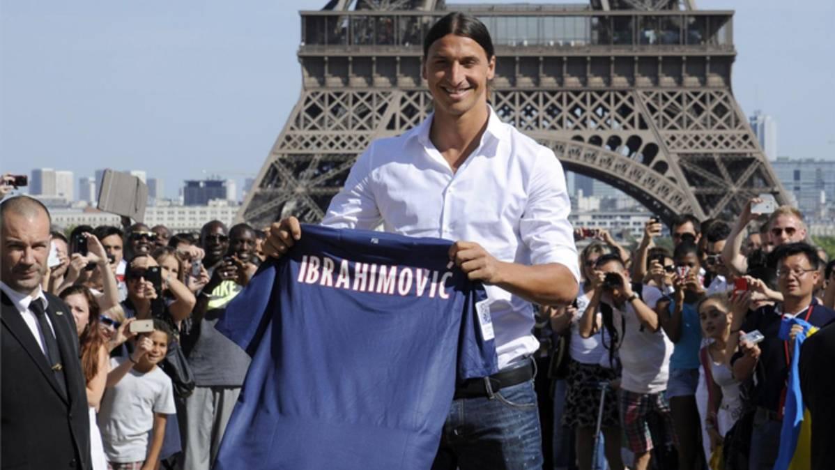 La �ltima fantochada de Ibrahimovic antes del United