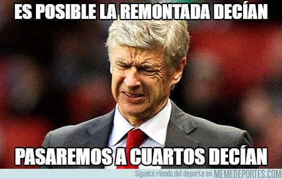 """Este es el mejor """"meme"""" del FC Barcelona-Arsenal"""
