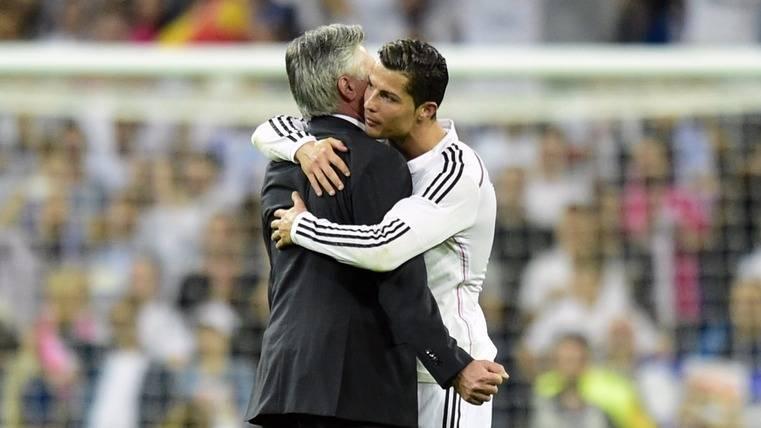 """Cristiano, """"el mejor delantero de la historia"""" para Ancelotti"""